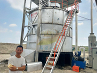 SHMGYF-100罐式有機物好氧發酵機